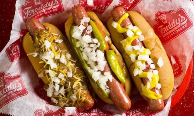 Hot Dogs | Courtesy of Freddy's Frozen Custard & Steakburgers