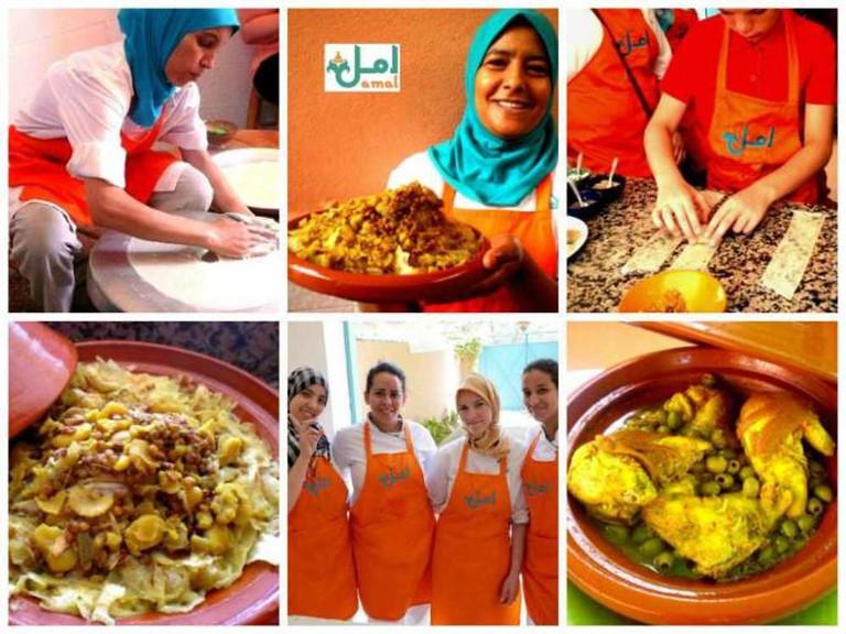 Amal Women's Training Center & Moroccan Restaurant   © Courtesy of Amal Women's Training Center & Moroccan Restaurant