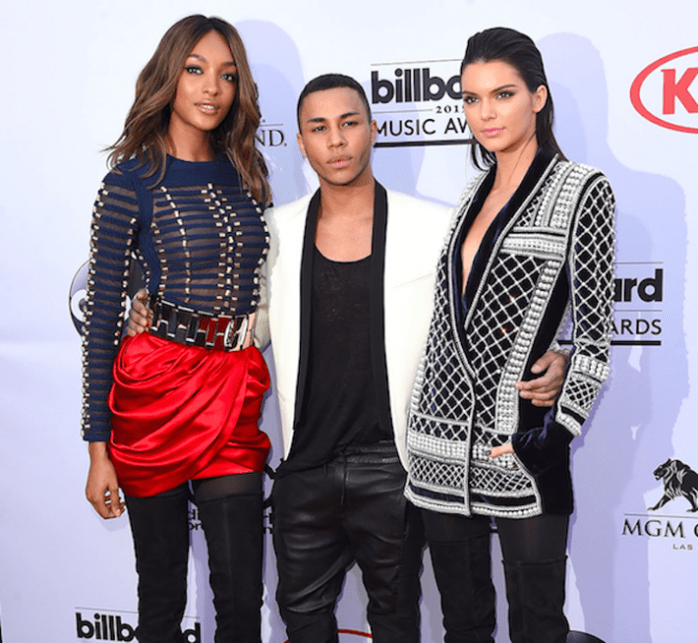 Olivier Rousteign and Kendall Jenner, for Balmain | © Disney ABC Television Group/Flickr