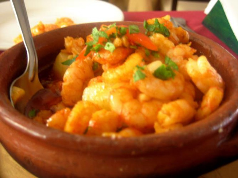 Shrimp dish in Uruguay I © Chris Goldberg/Flickr