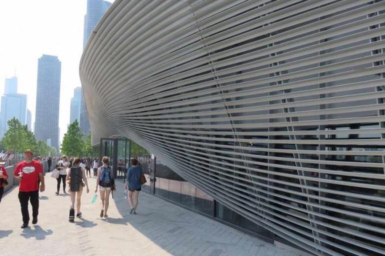 Wave wall | Courtesy of Navy Pier Media