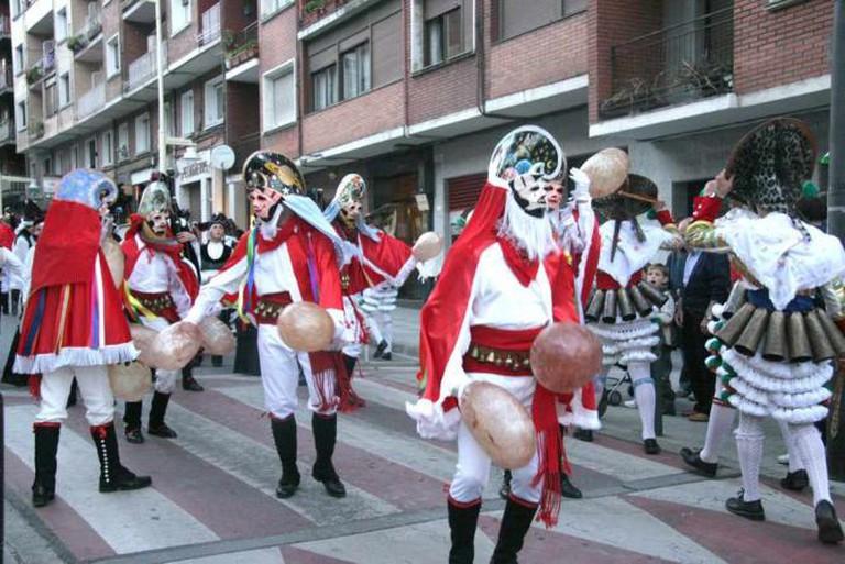 Peliqueiros in Xinzo de Limia |© datanza / Flickr