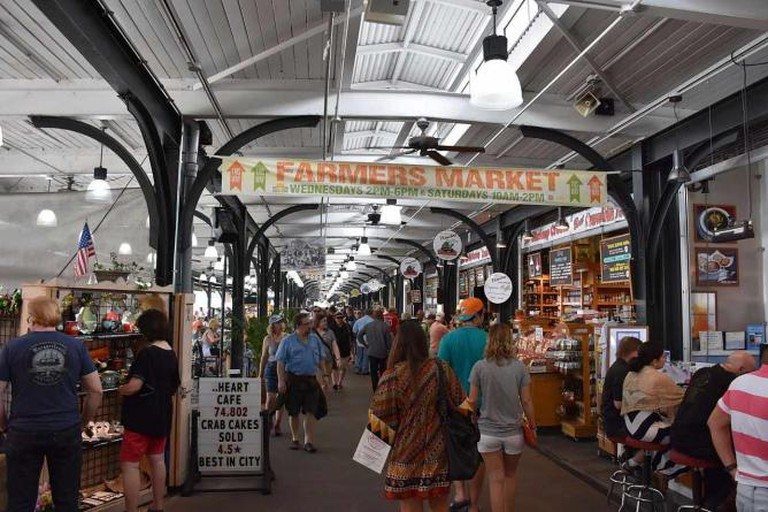 Wednesday Crescent City Farmer's Market is located inside French Market - MusikAnimal/Wikimedia Commons