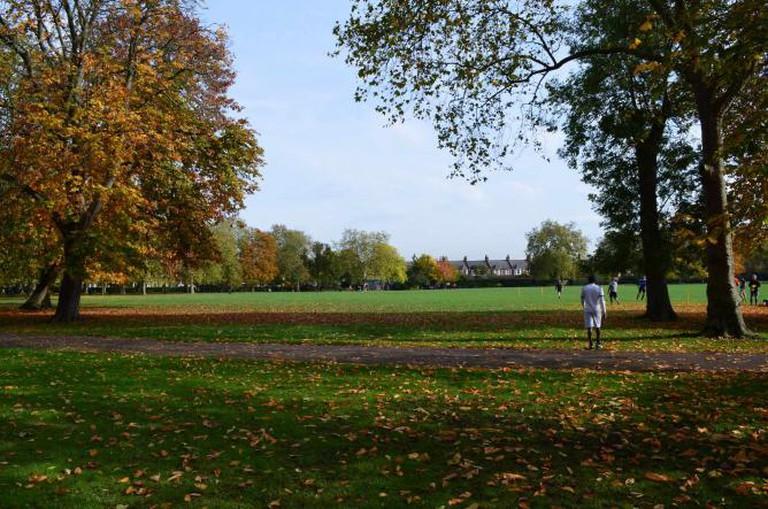 Queen's Park in Autumn