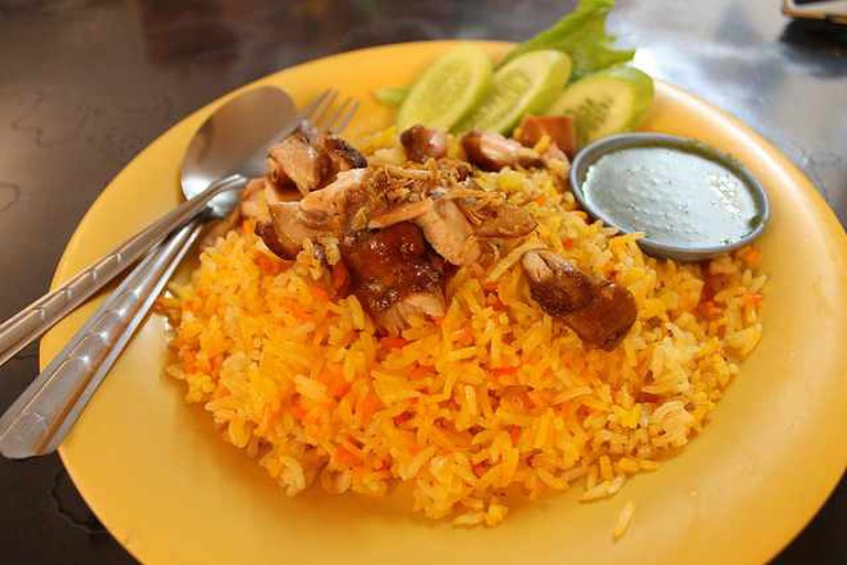 Biryani for lunch! | © Connie Ma/Flickr