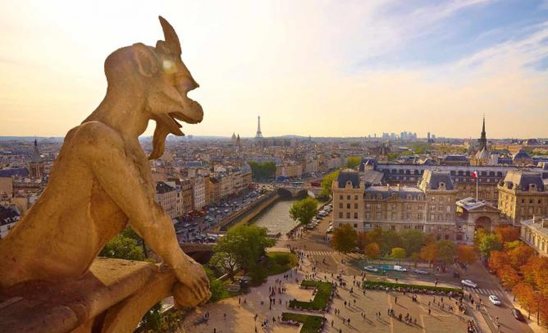 A Panoramic Shot of Paris