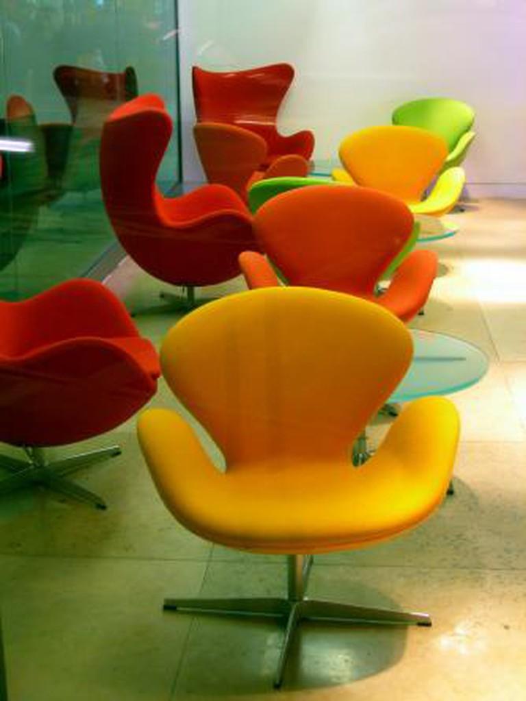 """Arne Jacobsen's """"The Egg""""   © LarsPlougmann/WikiCommons"""