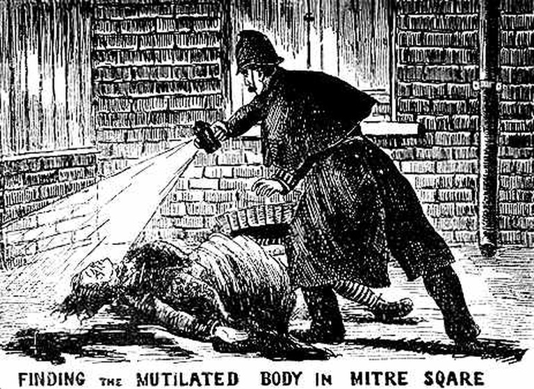 The Illustrated Police News, 1888 © wikicommons
