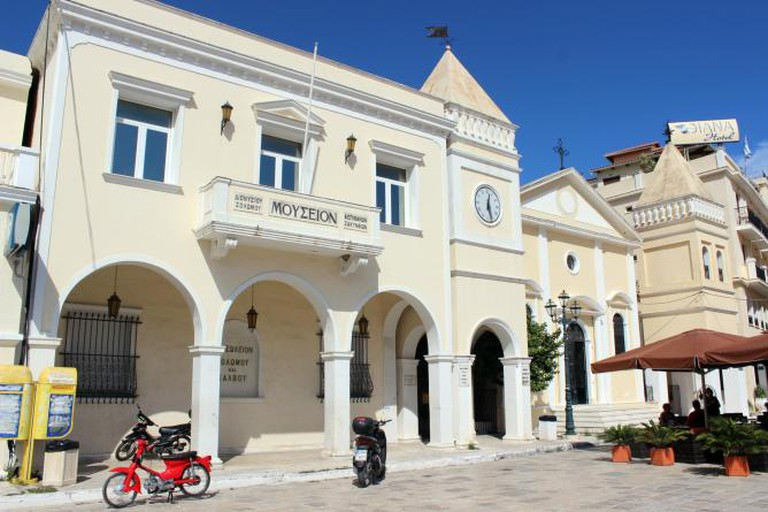 Museum of Dionysios Solomos   © Maesi64/WikiCommons
