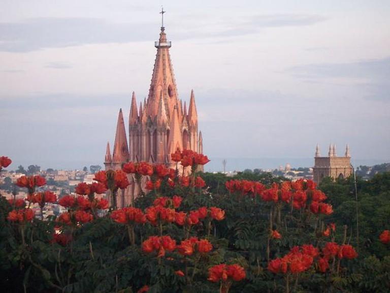 View from Calle Hospico, San Miguel de Allende