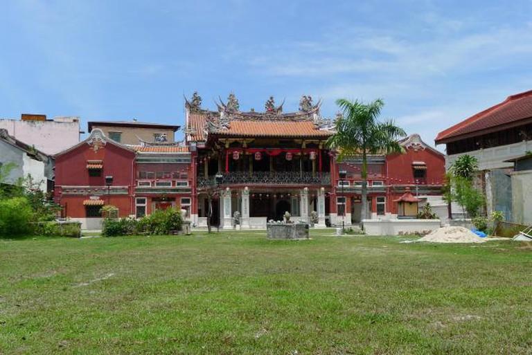 Seh Tek Tong Cheah Kongsi at Armenian Road, George Town, Penang. |© Azreey/Wikicommons