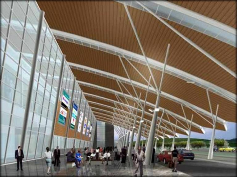 The Rendering of New Samarinda Airport Part 1 |© Sandarw/Wikicommons