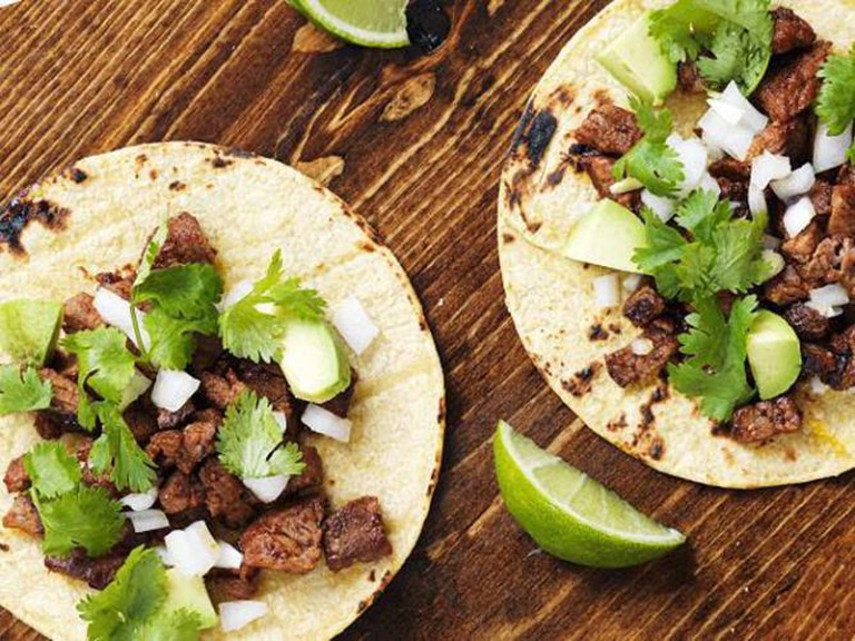 Steak Cilantro Tacos | Courtesy of Anacelia's