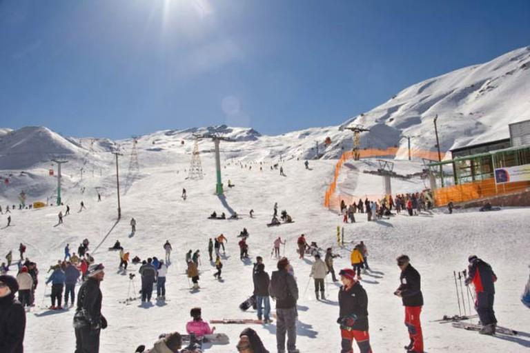 Dizin Ski resort, Iran