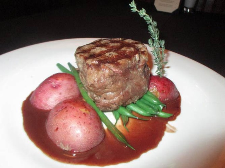 Steak Dinner I Courtesy of Okeechobee Steak House