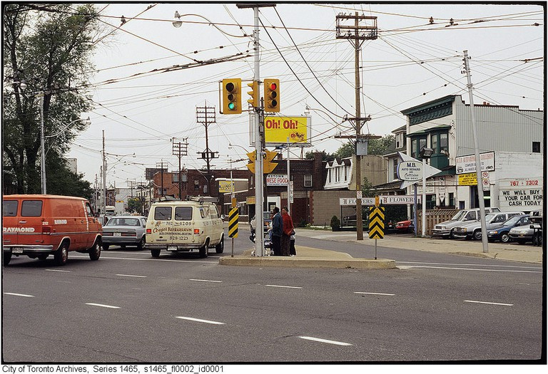 Dundas Street West in the Junction | © Toronto History/Flickr