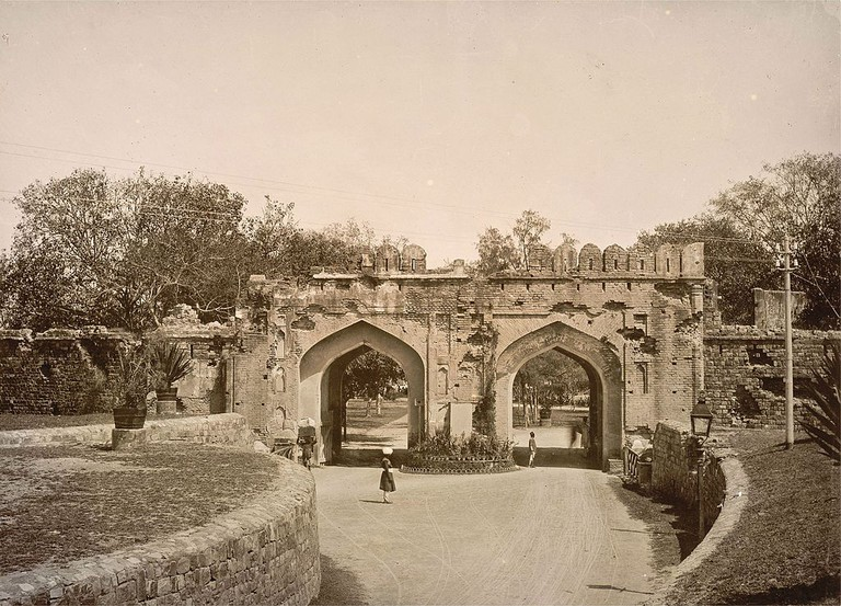 Kashmiri Gate, Delhi in the 1890s/© Lala Deen Dayal (1844-1905)/WikiCommons