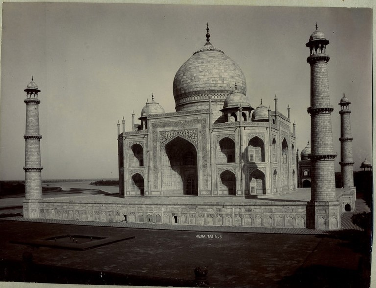 Taj Mahal, 1890/©Unknown/WikiCommons