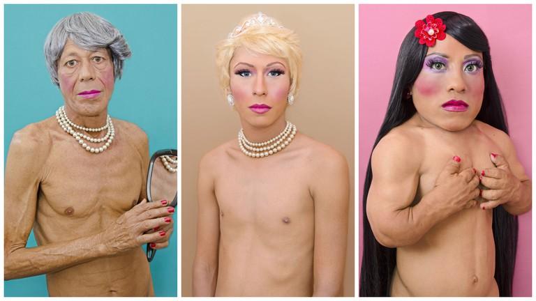 Pily, Brigitte & Betzy | Courtesy of Luis Arturo Aguirre