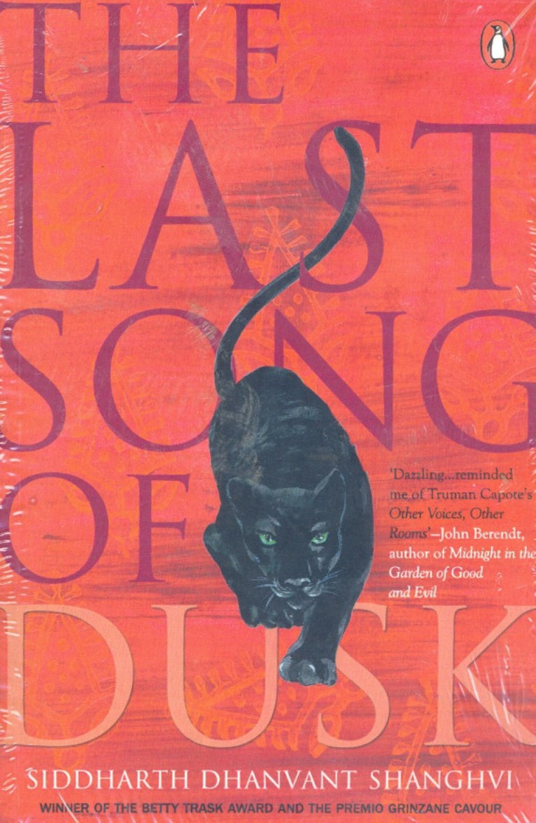 The Last Song of Dusk, Siddharth Dhanvant Shanghvi