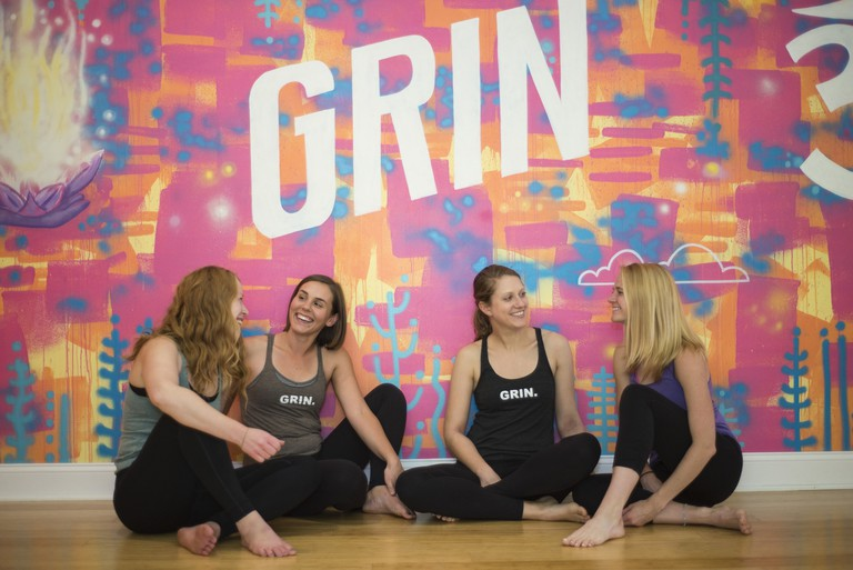Grin | Courtesy of The Grinning Yogi
