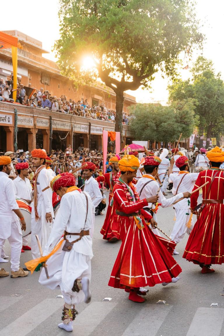 Ganguar Festival-Jaipur-India