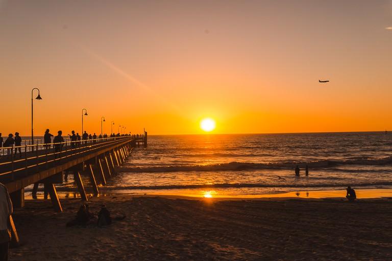 Glenelg Beach sunsets