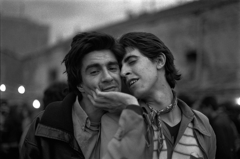 Alberto Garc°a Alix, Eduardo y Lirio, 1980 ∏ Alberto Garc°a-Alix VEGAP