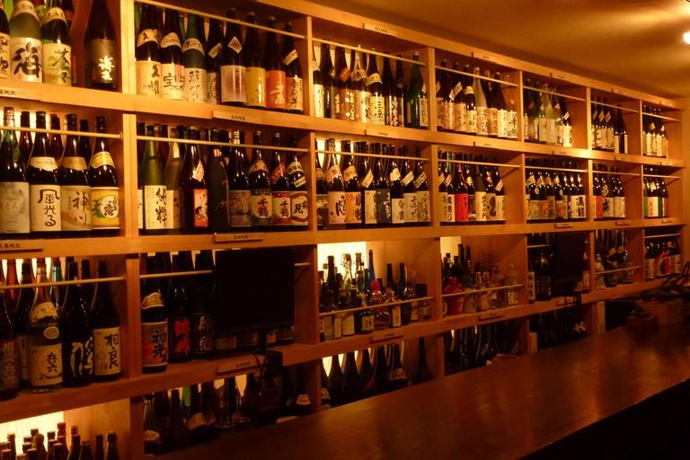 Interior of Ishizue bar