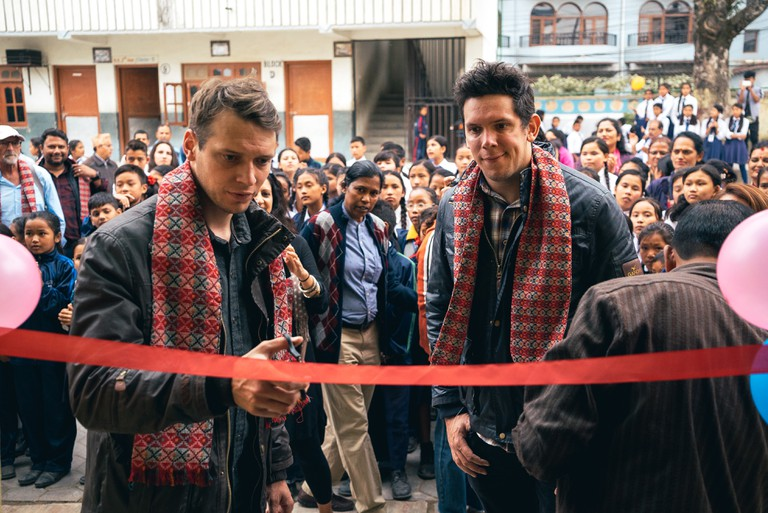 On the tenth anniversary of the tsunami, the Forkan brothers returned to Sri Lanka to open the first of their Kids Campuses