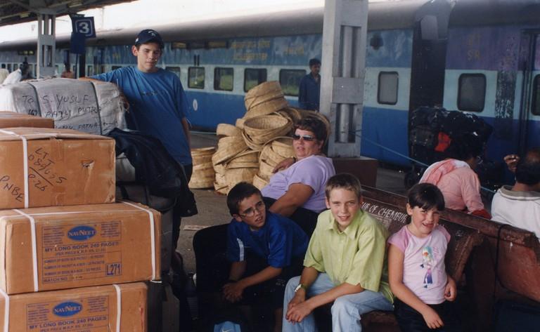 Forkan Family - Family Train trip