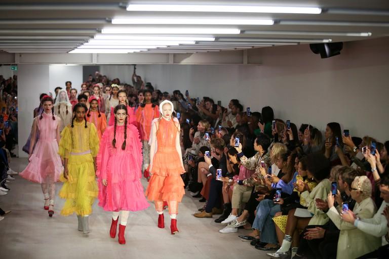 London Fashion Week - Runway - Bora Aksu