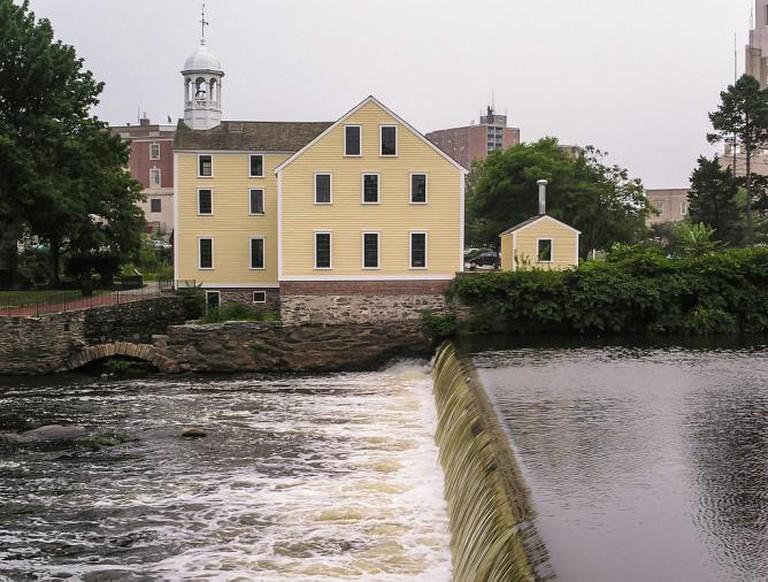 Slater Mill | © Dietmar Rabich/Wikimedia Commons