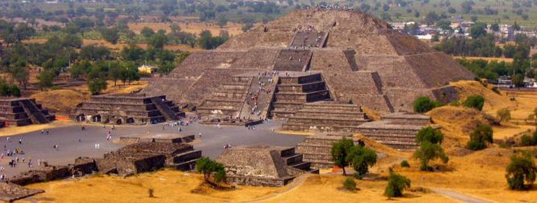 Pyramid of the Sun, Mexico. haRee/Flickr