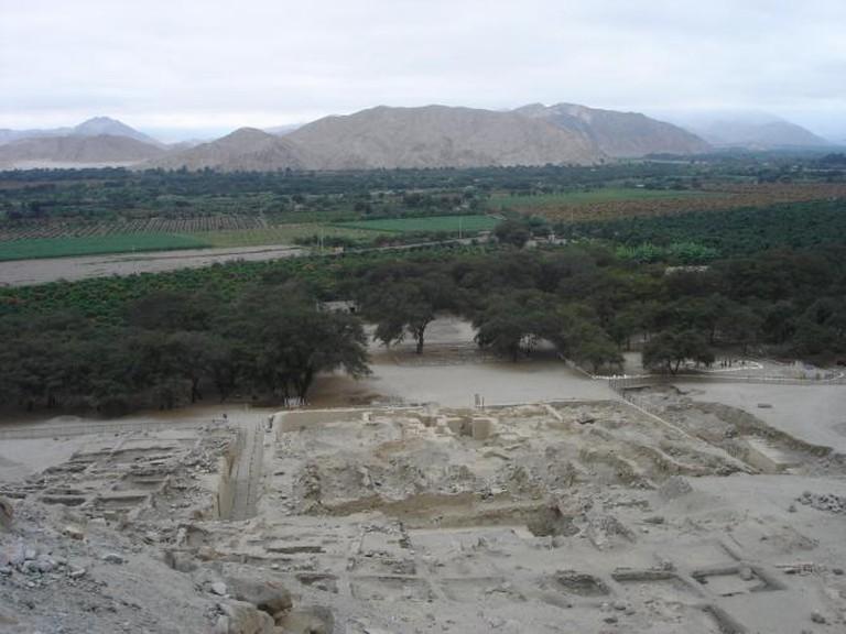 Sechin Bajo, Peru. Sylvain2803/Wikimedia Commons
