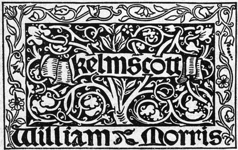 Kelmscott Press | © Nikve/Courtesy of WikiCommons