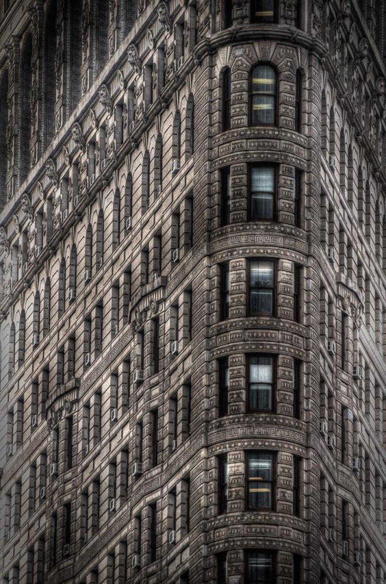 The Flatiron Building in New York City © Dave Wilson