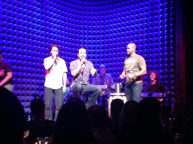 Freestyle Love Supreme performs at Joe's Pub | © Jessica MacLeish