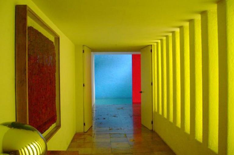 Interior de la Casa Gilardi © Ulises00/Wikipedia