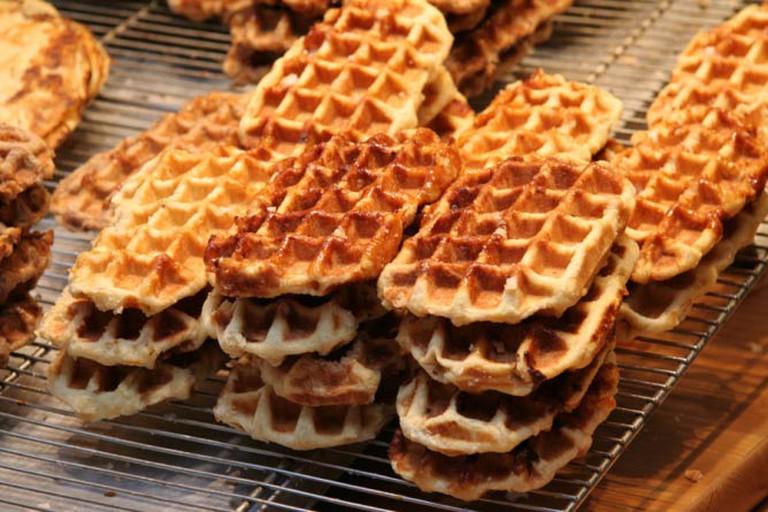 Belgian Waffles   © Jacques Renier/WikiCommons