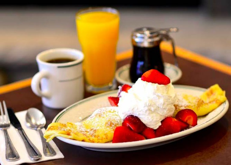 A Signature Pancake at the Original Pancake House | Courtesy Mark Hunter/Original Pancake House