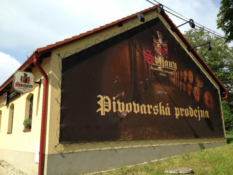 At the Svijany brewery | © Lani Seelinger