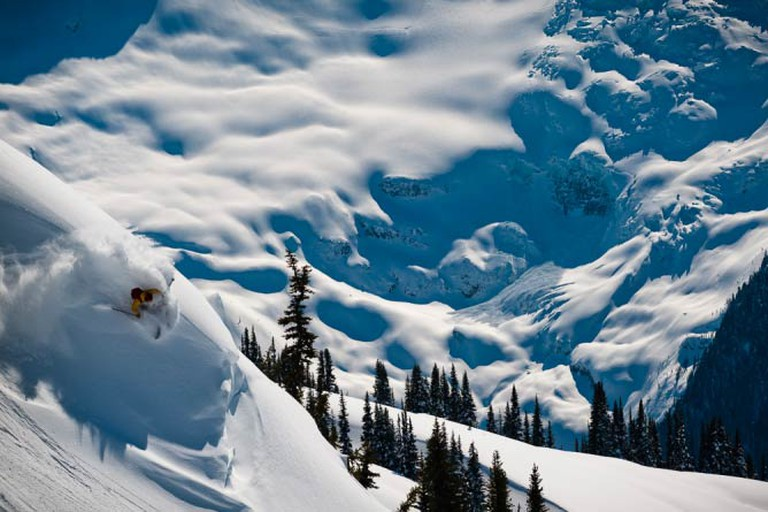 Eliel Hindert, Whistler Backcountry © Reuben Krabbe
