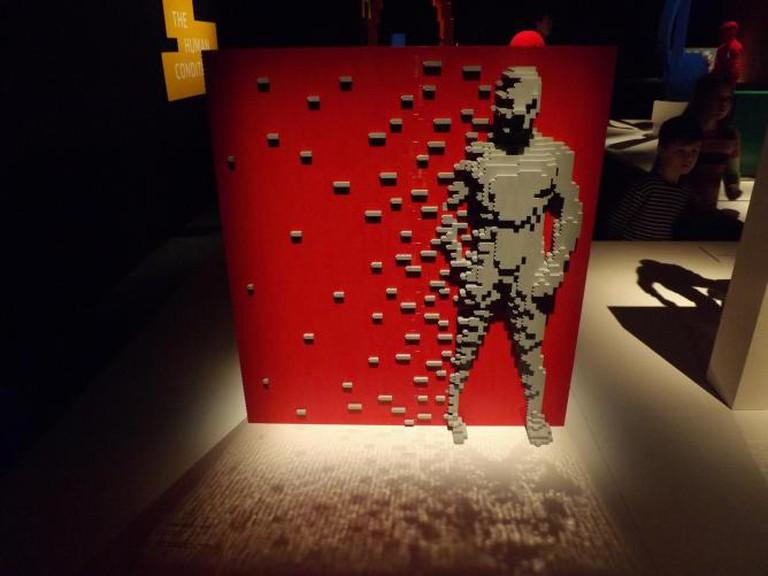 Lego Sculpture, Art of the Brick Exhibition, Nathan Sawaya