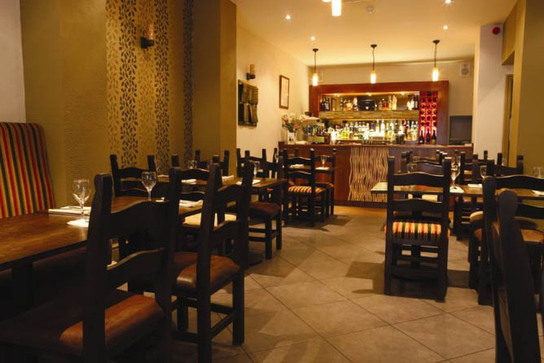 Inside Yamas |Courtesy Yamas Meze & Tapas Bar