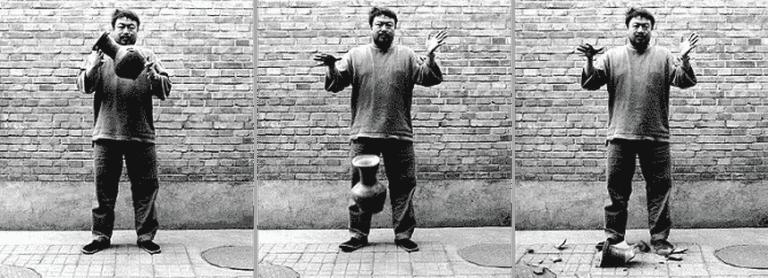 Ai Weiwei Dropping the Urn