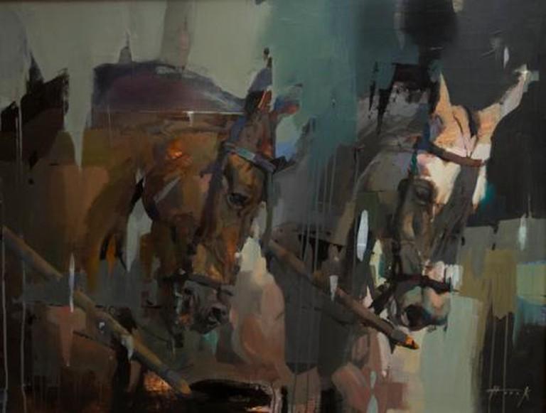 Hook equestrian art