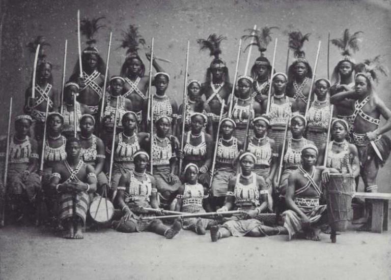Mino Benin Dahomey Amazonians
