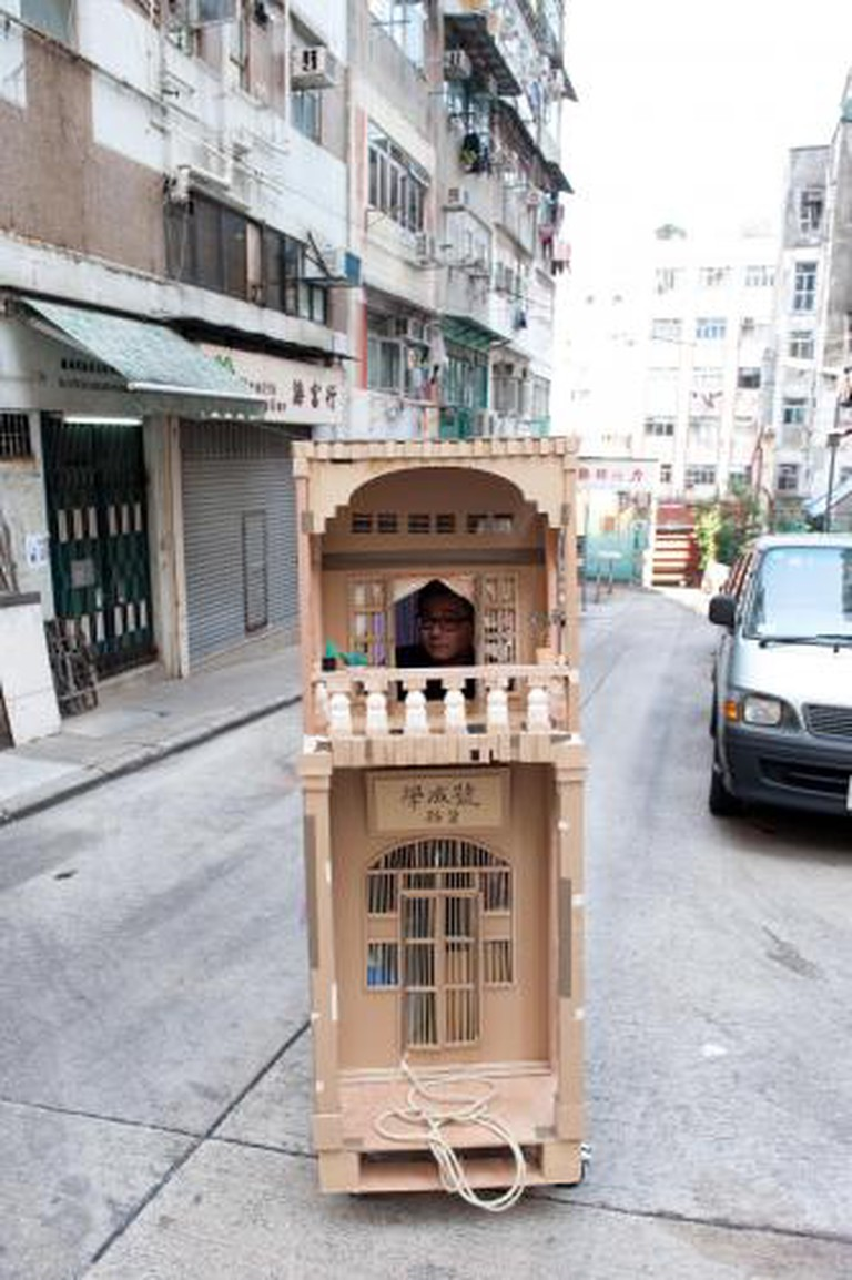 Hanison (Hok Shing) Lau, A Century Old Shop,  sculpture, and documented performance 2010