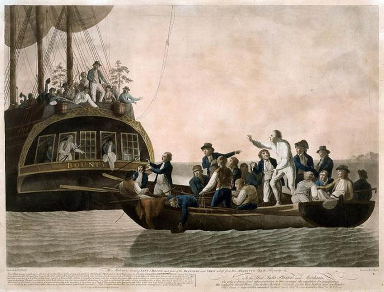 Mutiny of the Bounty   © National Maritime Museum/WikiCommons